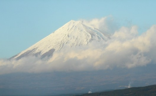 Photo of Mount Fuji, copyright Alan Marsden 2012