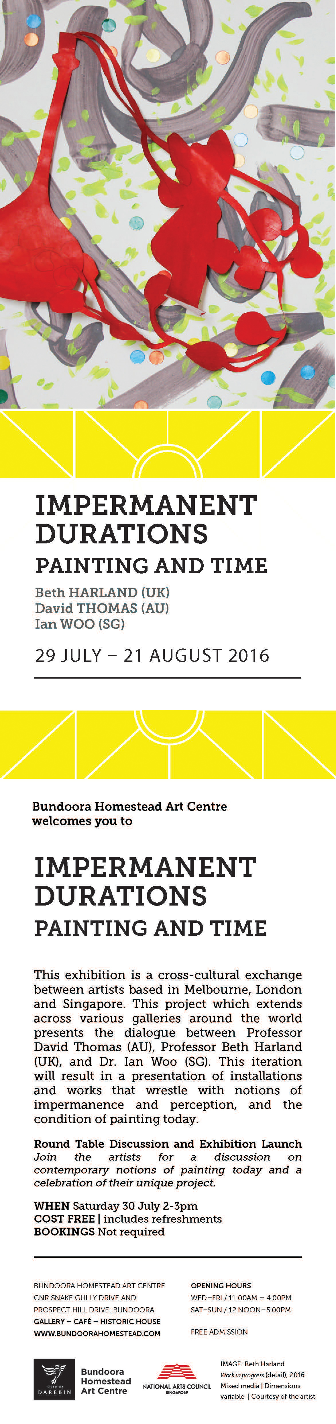 Bundoora Homestead Invite